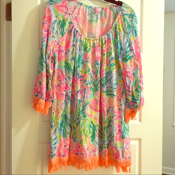 Lilly Pulitzer Dresses & Skirts - EUC Lilly Pulitzer Coverup Dress🎀